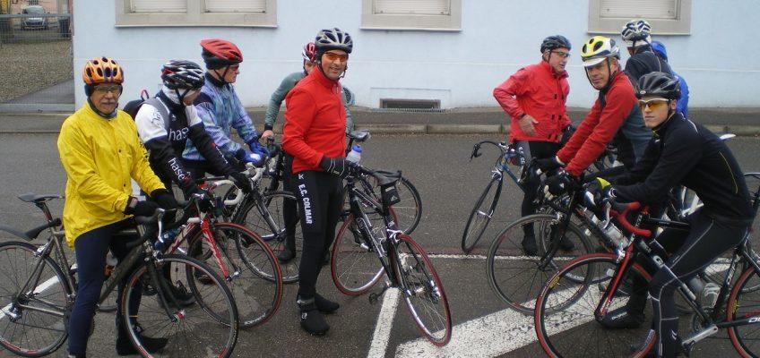 Entrainement Entente Cycliste Colmar