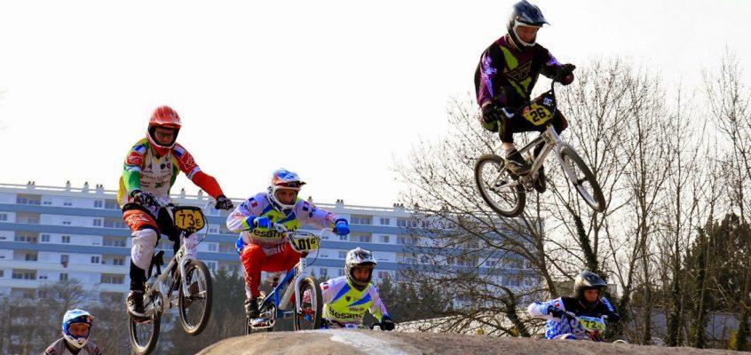 1ère manche Championnat Grand-Est BMX à Vesoul