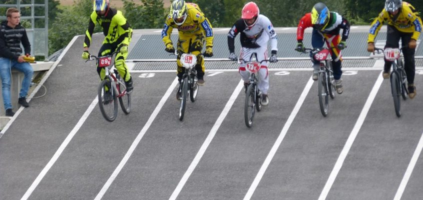 1ère manche du Challenge d'Alsace BMX 2015 à Schwenheim