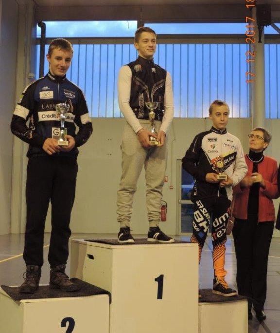 Premier podium pour Nicolas!