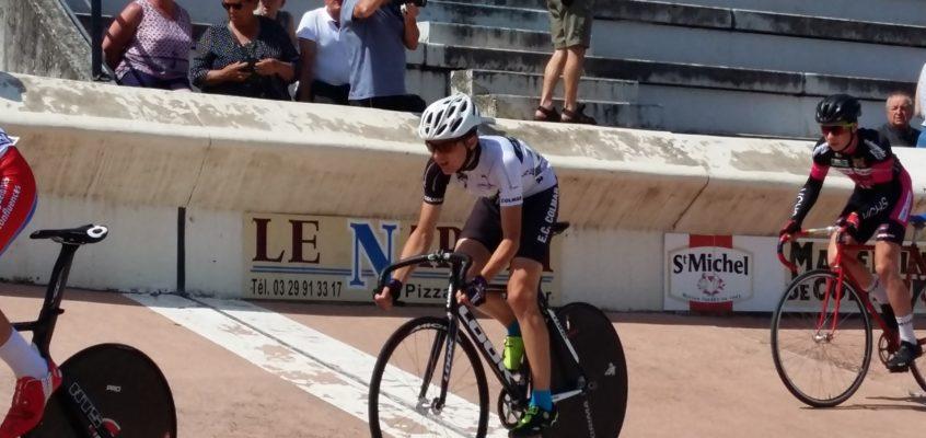 Championnat interrégional piste à Commercy.