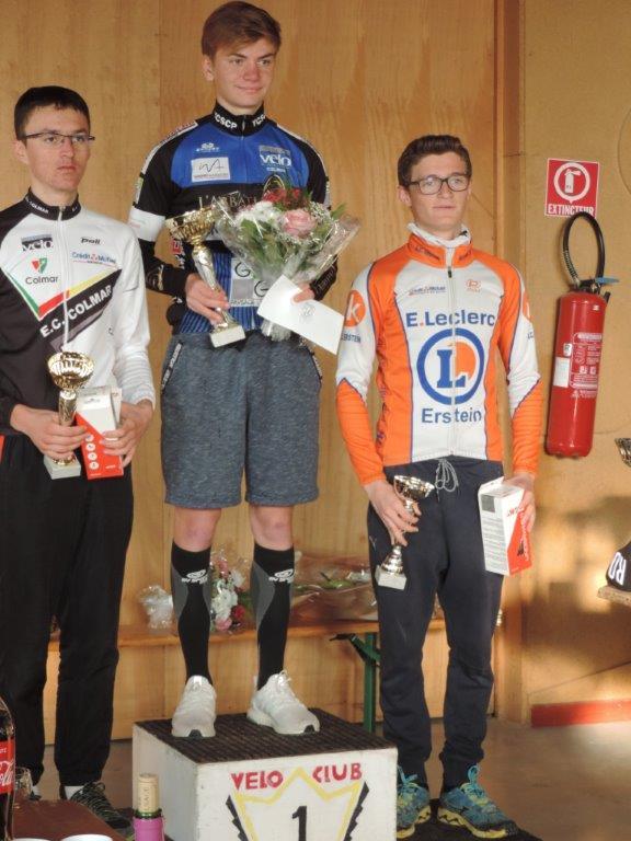 Week-end chargé pour les coureurs de l'ECC : Heimsbrunn et Saint Bernard