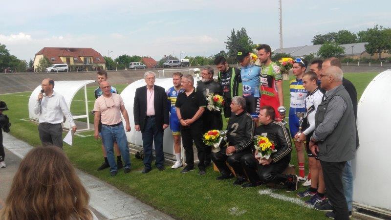 1er Grand Prix de Demi-fond de la Ville de Colmar.