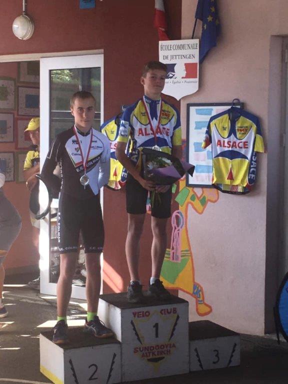 Championnat d'Alsace FSGT à Jettingen
