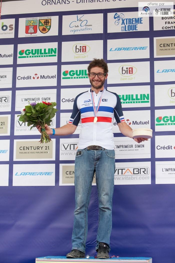 Cédric Vetter Champion de France !