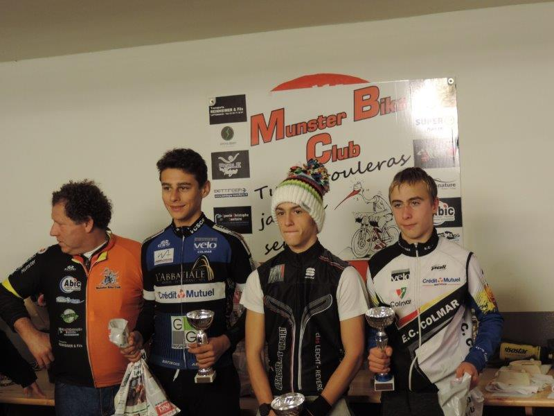 Encore 3 Podiums en Cyclo-Cross !