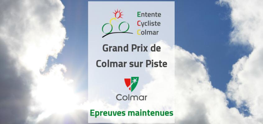 La 1ère manche du Grand Prix de la Ville de Colmar est maintenue